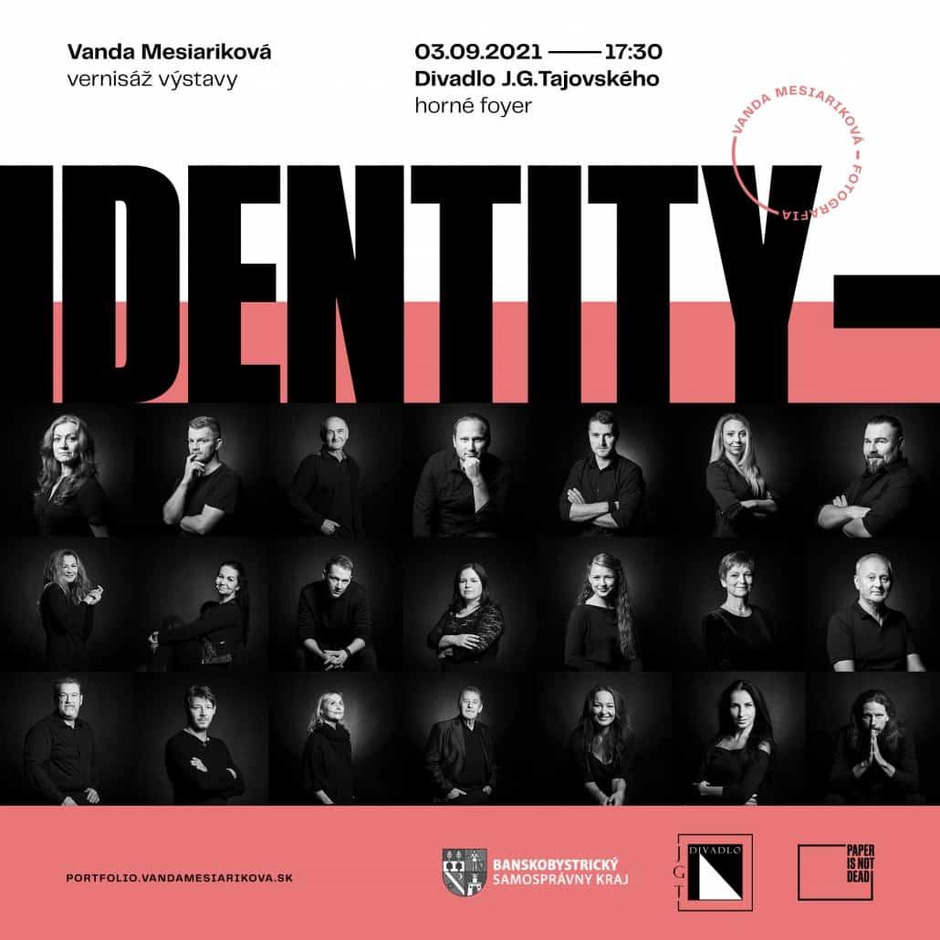 identity pozvanka k vernisáži